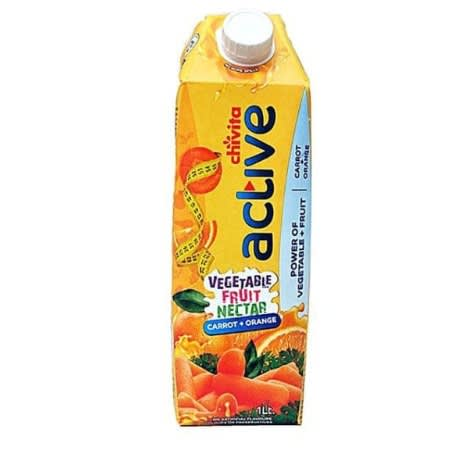 Active Vegetable Fruit Nectar Juice - 1l - 5 Pieces.