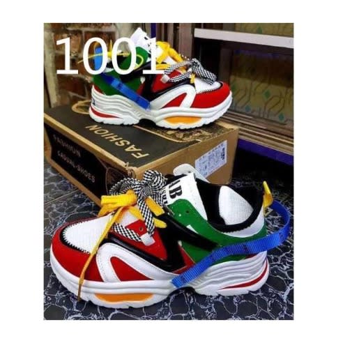 HZB Multicolour Female Sneakers | Konga
