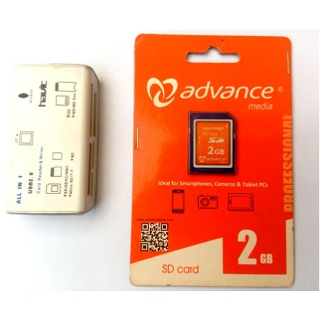 Advance High Speed 2gb Sd Memory Card For Camera Reader