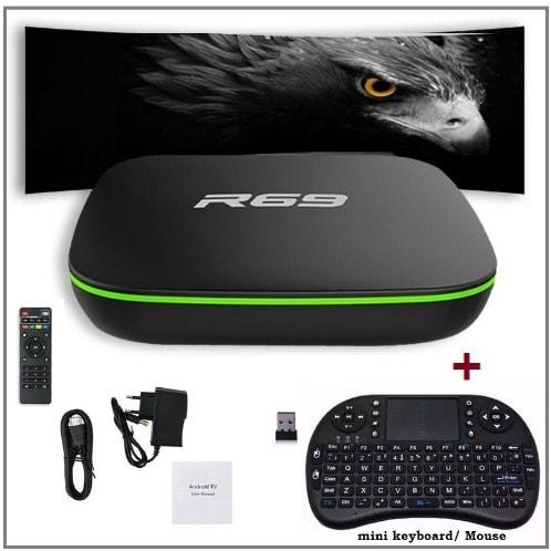 T9 Android 8 1 Tv Box 4gb 64gb Bluetooth 4 Wifi 4k 3d | Konga Online