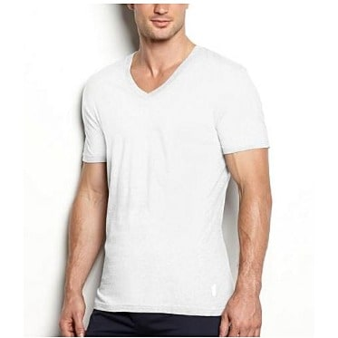 77975a7ea414 Men's Plain White V-neck T-shirt | Konga Online Shopping