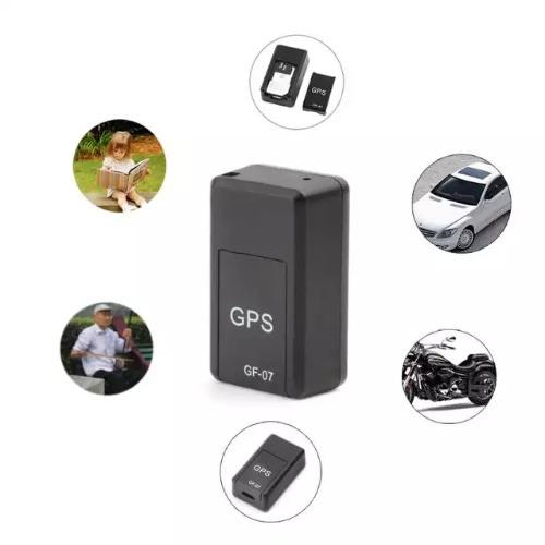 Magnetic Mini Car Tracker GPS Real Time Tracking Locator - Black