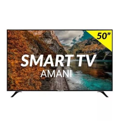 "Amani 50"" Smart 4k Uhd Tv"