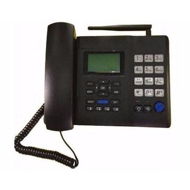GSM Sim Card Desk Phone F501 - Black