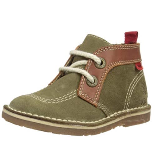 ba7da7c9e5a612 Kickers Adler Boys Shoe Dark Green/tan Suede | Konga Online Shopping