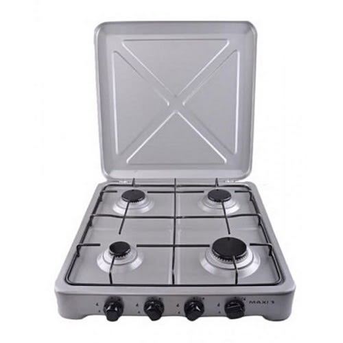 3 Burner And 1 Hot Plate Gas Cooker