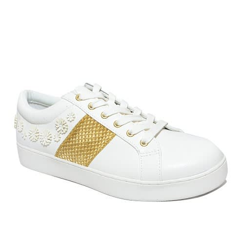 ec4fe6fb5d6 Next Chunk Lace Trainer - White