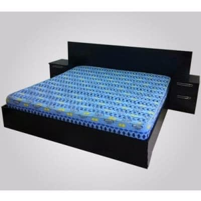 6ft X 6ft Bed Frame - Coffee Brown
