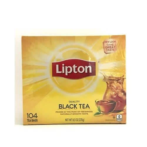 America's Favourite Black Tea - 104 Tea Bags.