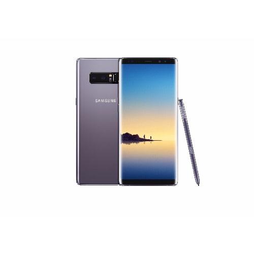 reputable site c6ea1 8a0a2 Galaxy Note 8 - Hybrid Dual- 6GB RAM - 64GB ROM - Iris Scanner -Orchid Grey