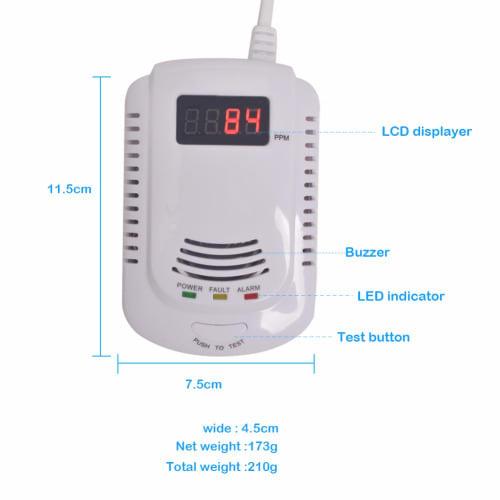 Gas Leakage Detector.