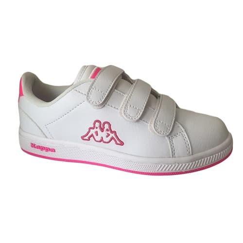 443c80e390 Kappa Giorno 1 Junior Trainers - White & Pink | Konga Online Shopping