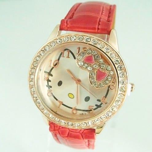 1ef7bd9dc Hello Kitty Girls' Crystal Quartz Wristwatch - Red | Konga Online ...