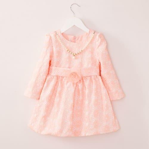 /G/i/Girls-Long-Sleeve-Princess-Dress---Peach-7702621.jpg