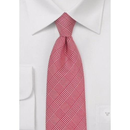 /G/l/Glen-Check-Silk-Tie---Bright-Red-5847727.jpg