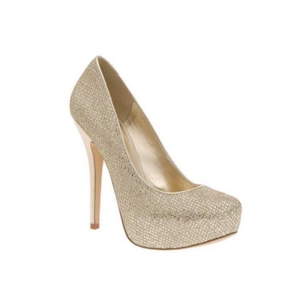 c72bcc4b2f5b Aldo Glitter Platform Pumps - Gold | Konga Online Shopping