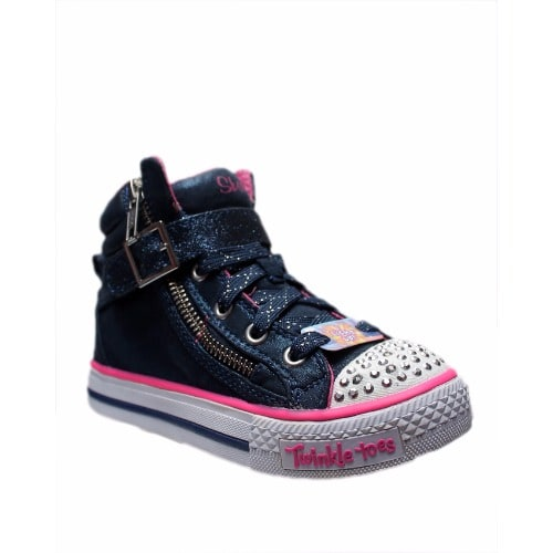 best sneakers f3e96 4d748  G l Glittering-Light-Up-High-Top-Sneakers