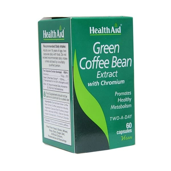 Health Aid Green Coffee Bean Extract 60 S Capsules Konga Online Shopping