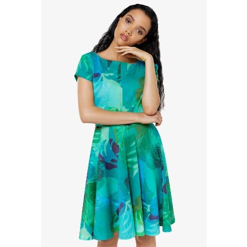 /G/r/Green-Print-Cap-Sleeve-Skater-Dress-7508165.jpg