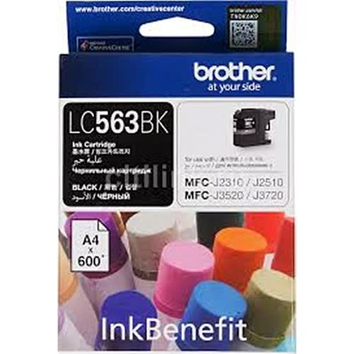 Lc563bk Black Compatible Ink Cartridge