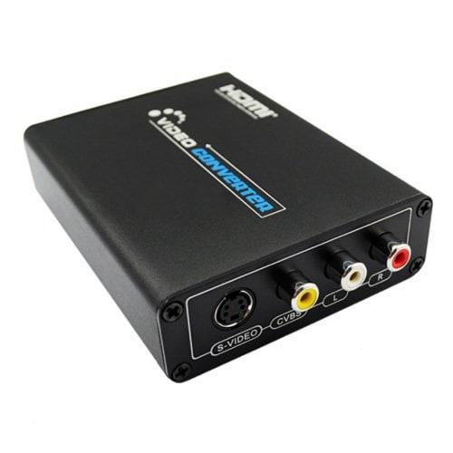 Forskjellige HDMI to AV/S Video Converter HDMI to RCA/SVIDEO+S VIDEO | Konga WE-67