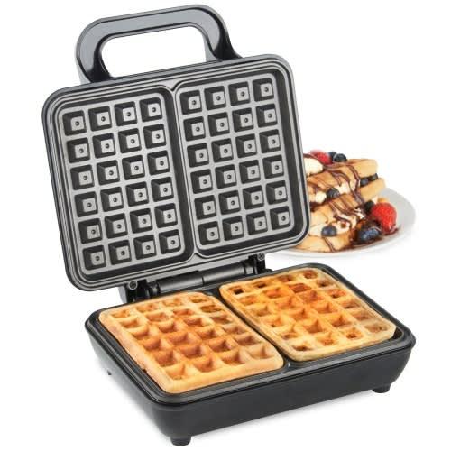 Dual Belgian Waffle Maker 1000