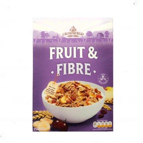 Fruit & Fibre Cereal (750g) Low Fat, High Fibre.