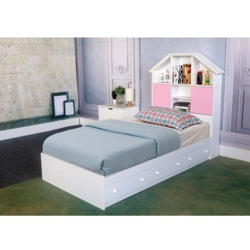 the best attitude fc270 c4651 Luxurious Twin Size Chest Bed With 3 Storage Drawers