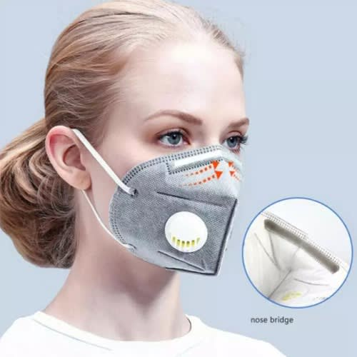 Kn95 Re-usable And Washable Masks - Pack Of 5.