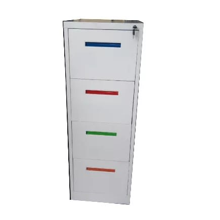 Cassia Multicolor Metal Office File Cabinet
