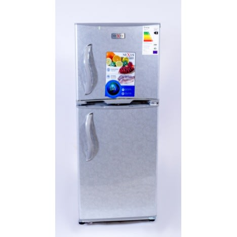 197-Litre Fridge with Floral Print - NX-245 - Silver