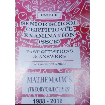 SSCE Past Question And Answer | Mathematics.