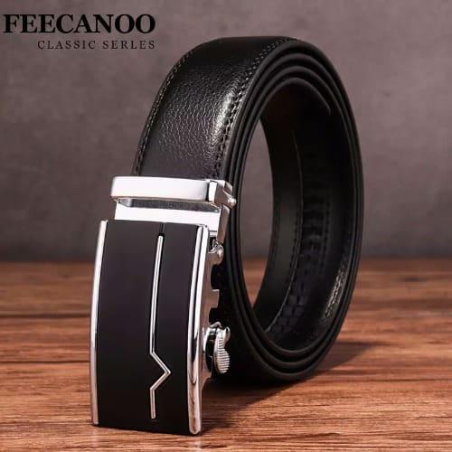5f278cbe1 Men s Leather Belt - Black