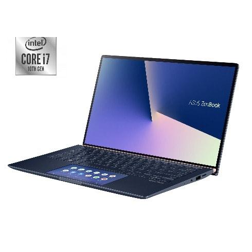 "Zenbook UX434FAC-AI236T 14"", Intel Core I7-10510U, 16GB RAM 512GB SSD Wins 10-Royal Blue."