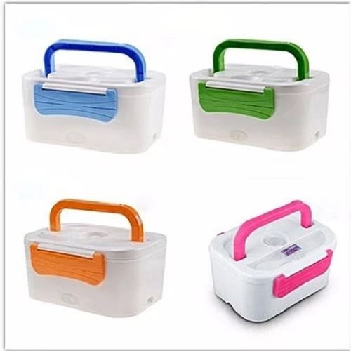 4 Set Of Eletric Lunch Box-mulitcolor
