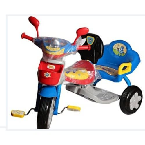 Kid's Double Seat Tricycle - Red & Blue | Konga Online Shopping
