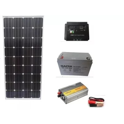 500w Solar System For Home And Office