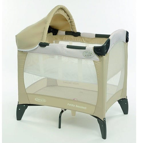 476a6cea9288 Graco Petite Baby Bassinet And Travel Cot
