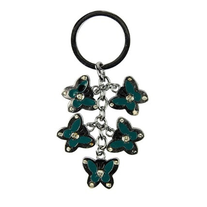 Butterfly Key Holder - Green