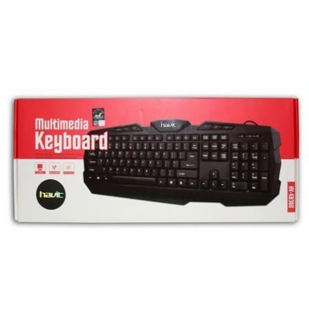 47e46d885ab Havit Multimedia Keyboard - HV-KB360 | Konga Online Shopping