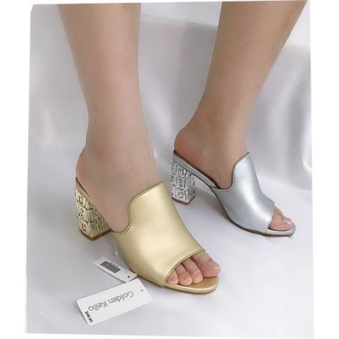 1a1d480fa5e Ladies  Heeled Slippers - 2-In-One