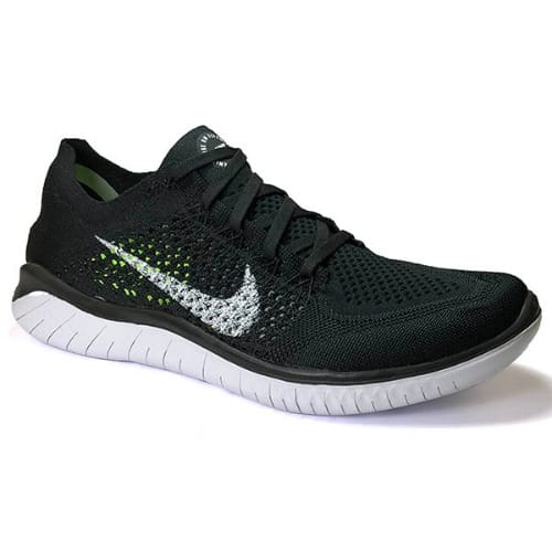 reputable site 5f413 43e7e Free Rn Flyknit 2018 Running Shoes - Black