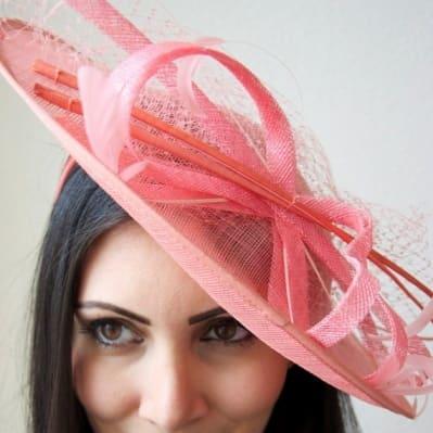 d4d6691e4b0a1 Peace Hat & Fascinators Hat Fascinator - Pink | Konga Online Shopping