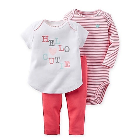 a57a7c7e8 Carter's Hello Cutie - 3 Piece Set for Kids | Konga Online Shopping