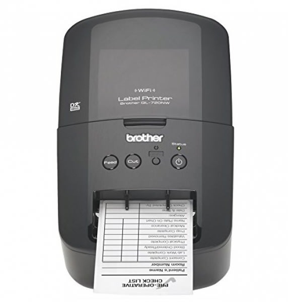 High-Speed Label Printer with Ethernet & Wireless Networking QL-720NW