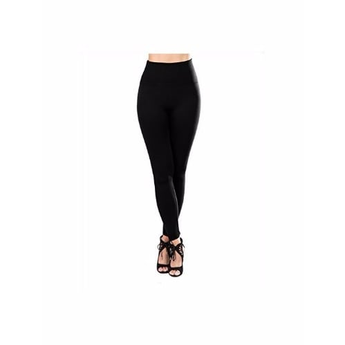 abb2d6bebf4c7a High Waist Lined Compression Slimming Leggings - Black | Konga ...