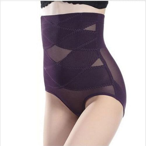 b33955e2456d1 California Beauty High Waist Tummy Tuck Slimming Shapewear – Purple ...