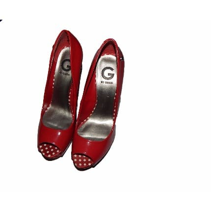 38cb8eeb0b Guess Honora Pump Heel - Red   Konga Online Shopping