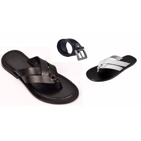 /H/o/Hook-Leather-Slippers---Set-of-2---Black-White-Free-Leather-Belt-7845065_2.jpg