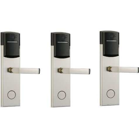 Buy Hotel Door Lock With Rfid Card Access Control 304 Stainless